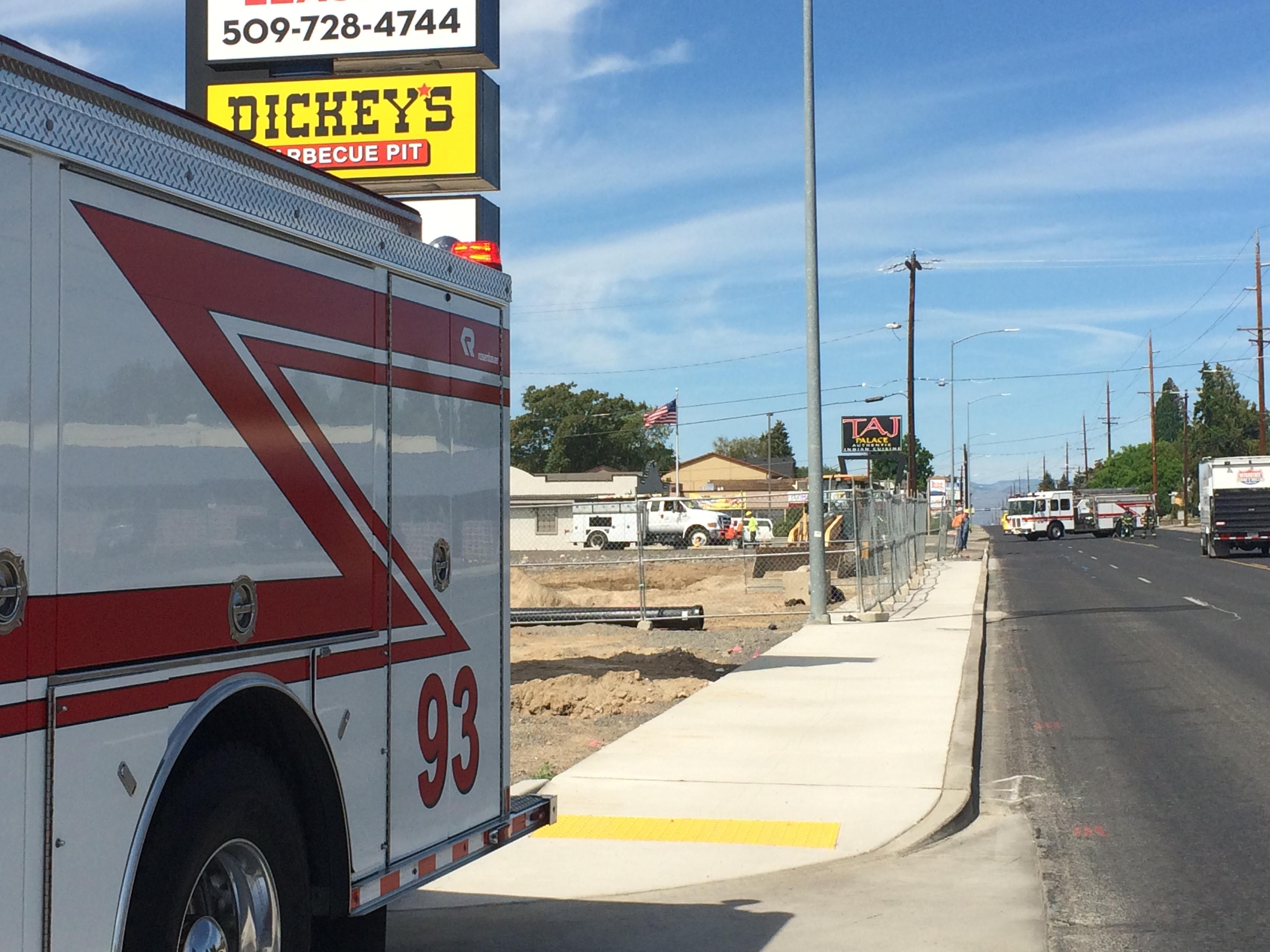 Nob Hill Hours >> B Shift Crews Respond To A Natural Gas Leak On Nob Hill
